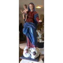 LS 368 Madonna con Bambino h. cm. 130