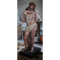 LS 293 Cristo alla colonna h. cm. 177