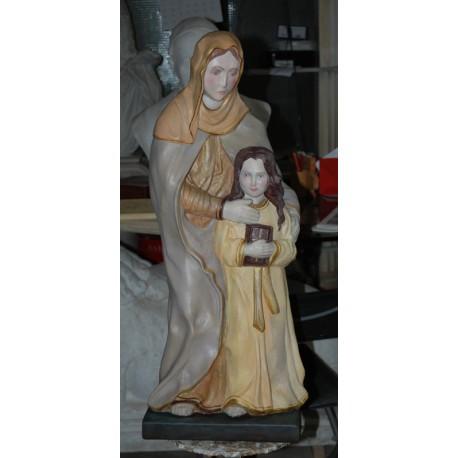LS 144 Sant'Anna e Madonna bambina h. cm. 77