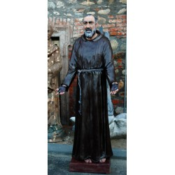 LS 166 San Pio da Pietrelcina h. cm. 190