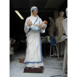 LS 172 Santa Madre Teresa di Calcutta h. cm. 185