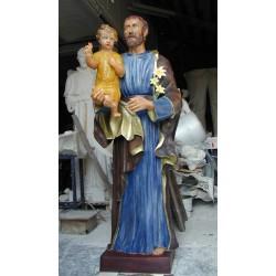LS 173 San Giuseppe con Bambino h. cm. 180