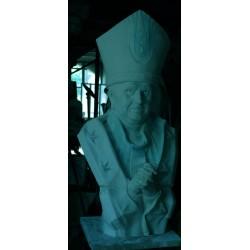 LB 165 Papa Ratzinger (Papa Benedetto XVI) h. cm. 105