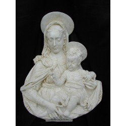 LR 83 Madonna del Verrocchio h. cm. 83x63