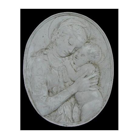 LR 95 Madonna del Donatello - ovale h. cm. 49x39