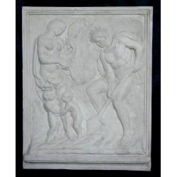 LR 96 Il lavoro - Jacopo Della Quercia h. cm. 97x77
