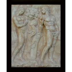 LR 99 Peccato originale - Jacopo Della Quercia h. cm. 86x71