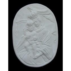 LR 112 Madonna di Misobolo - ovale h. cm. 44x31