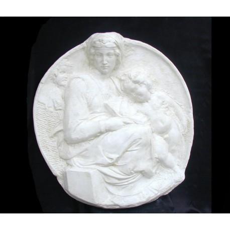 LR 126 Tondo Pitti di Michelangelo h. cm. 91x85