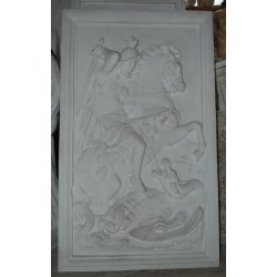LR 157 San Giorgio a cavallo h. cm. 119x71