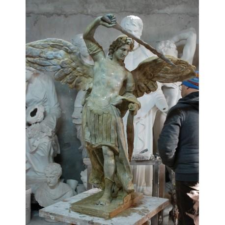 LS 317 San Michele Arcangelo h. cm. 120