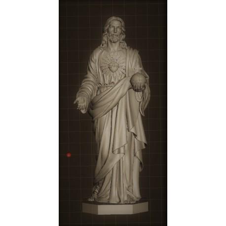 RID 72 Statua del Sacro Cuore di Gesù h. cm. 100