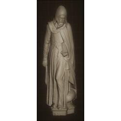 RID 89 Statua di Sant'Antonio Abate h. cm. 40