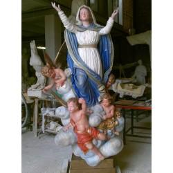 LS 227 Madonna Assunta h. cm. 220
