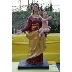 LS 231 Madonna con Bambino h. cm. 135