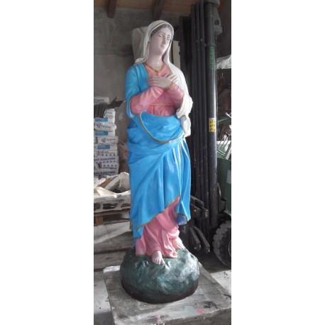 LS 262 Madonna con braccia incrociate h. cm. 161